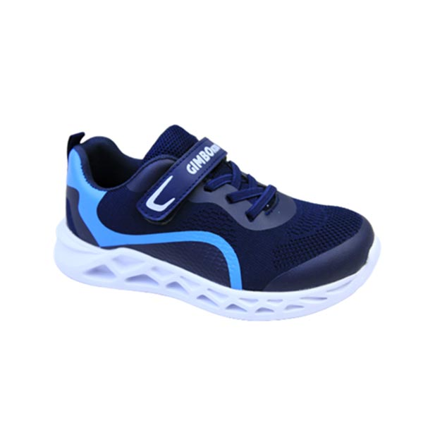 kingbo KB-SK20 GOOD QUALITY SAFE MATERIAL BREATHABLE MAGIC TAPE TYPE KIDS SPORTS SHOES