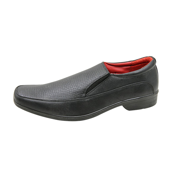 kingbo KB-IUM08 casual fashion black injection brands custom men formal leather INJECTION SHOES