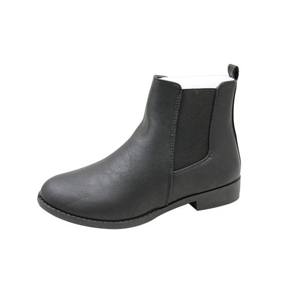 kingbo KB-IUL07 fashion  manmade Leather Black Shoes for women